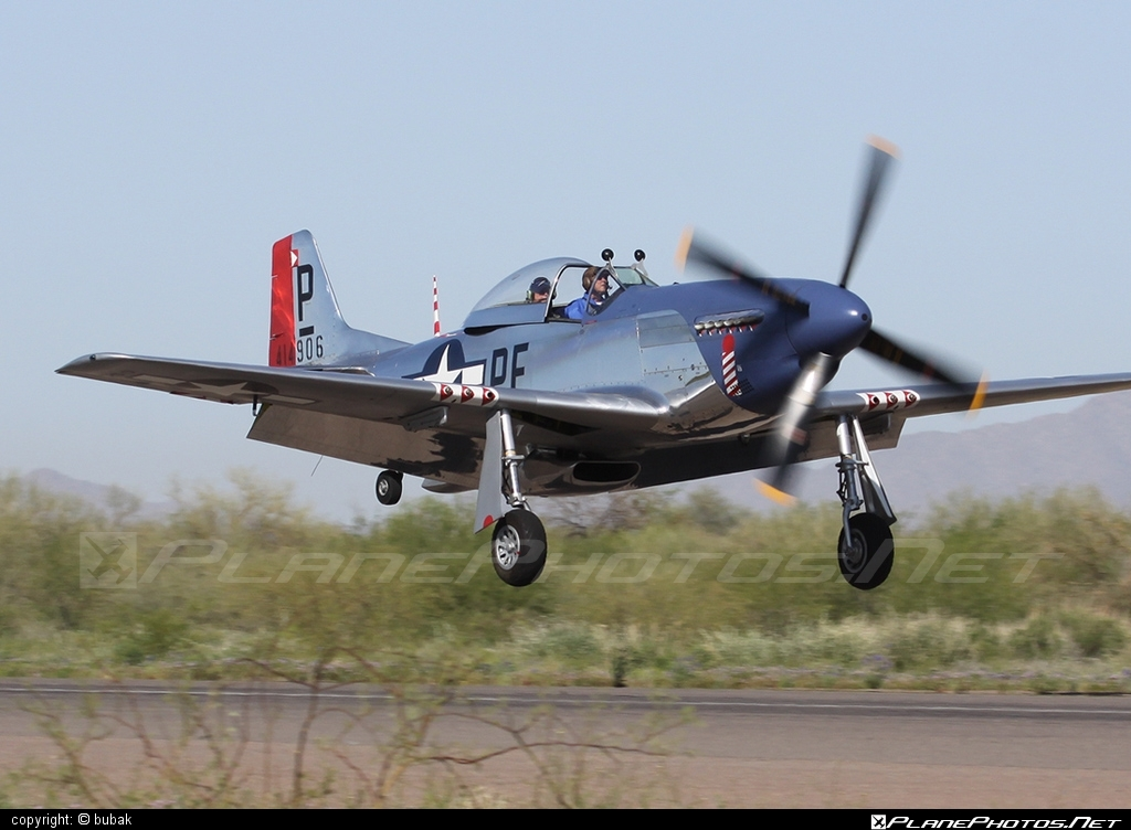 North American P-51D Mustang - N151KW operated by Private operator #northamerican
