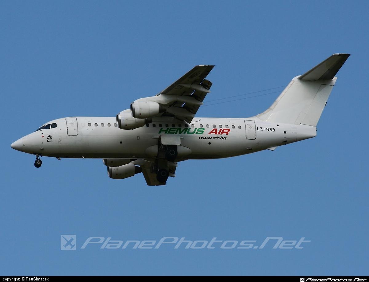 British Aerospace BAe 146-200 - LZ-HBB operated by Hemus Air #bae146 #bae146200 #britishaerospace #jumbolino
