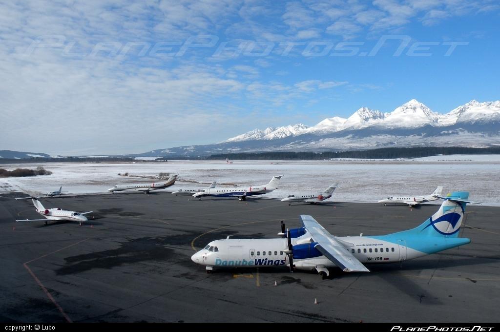 ATR 72-202 - OM-VRB operated by Danube Wings #atr