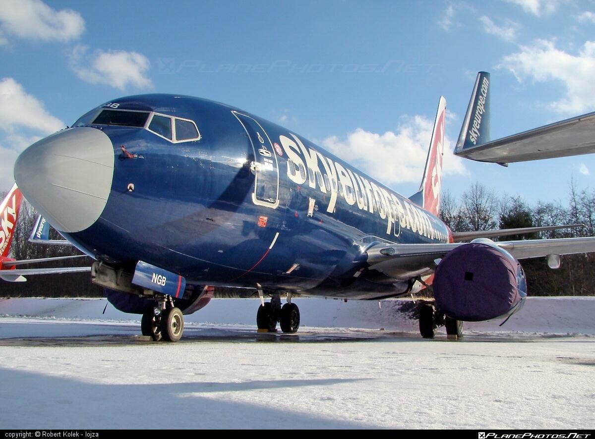Boeing 737-700 - OM-NGB operated by SkyEurope Airlines #b737 #b737nextgen #b737ng #boeing #boeing737