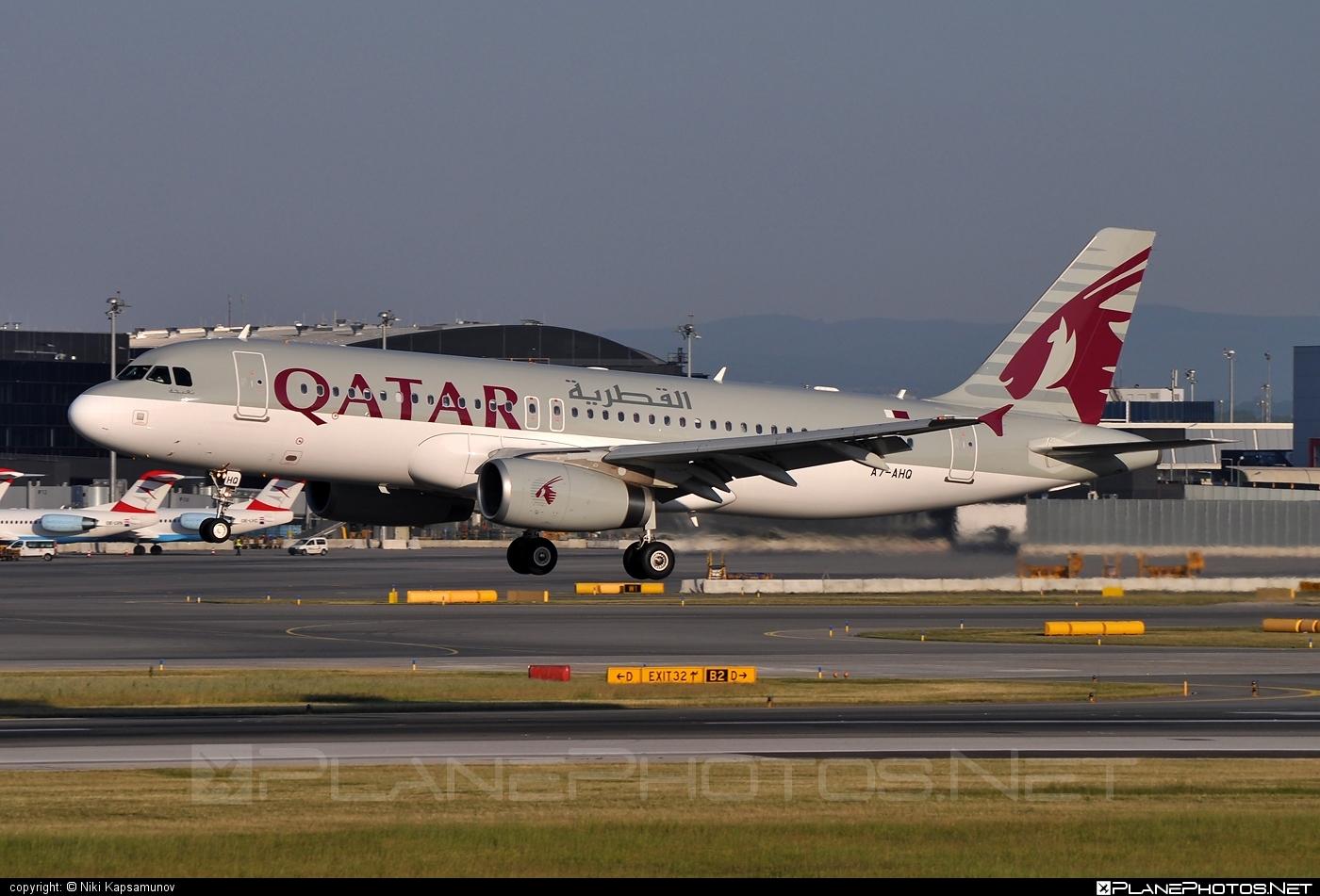 Airbus A320-232 - A7-AHQ operated by Qatar Airways #a320 #a320family #airbus #airbus320 #qatarairways