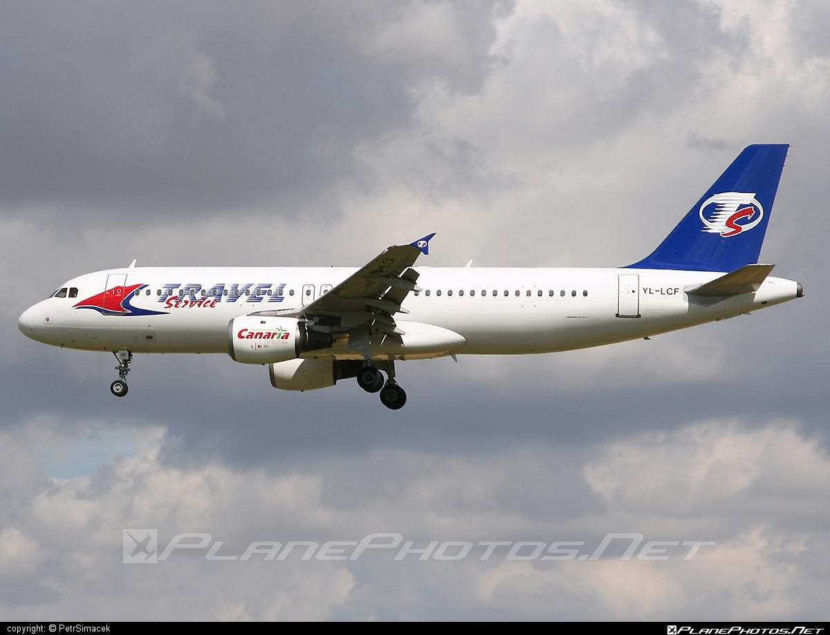 Airbus A320-212 - YL-LCF operated by Travel Service #a320 #a320family #airbus #airbus320 #travelservice