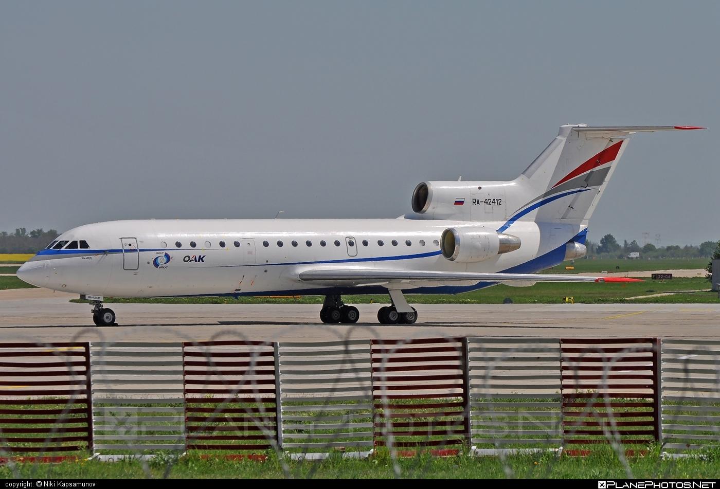 Yakovlev Yak-42D - RA-42412 operated by RusJet Air Company #yak #yak42 #yak42d #yakovlev