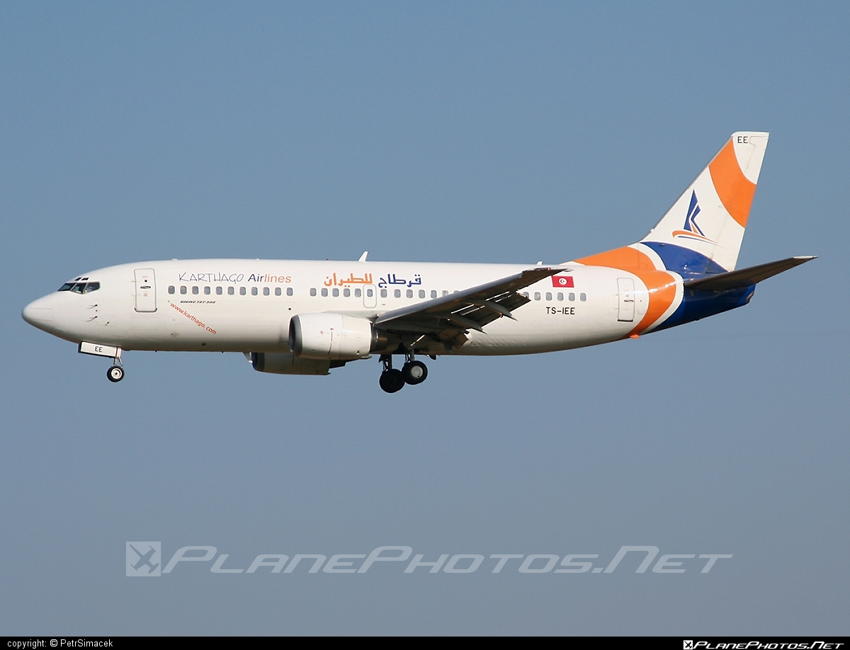 Boeing 737-300 - TS-IEE operated by Karthago Airlines #b737 #boeing #boeing737