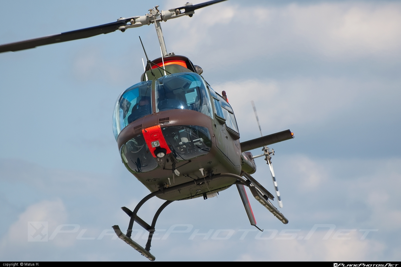 Bell 206B-3 JetRanger III - H1-21 operated by Brigada zračne obrambe in letalstva (Slovenian Air Force) #bell #bellhelicopters #slovenianairforce