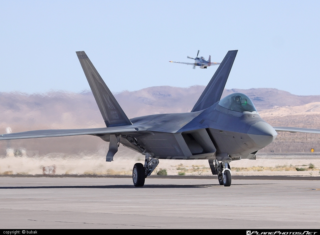 Lockheed Martin F-22A Raptor - 06-4123 operated by US Air Force (USAF) #LockheedMartin #usaf #usairforce