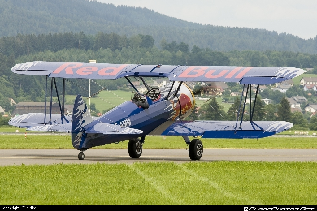 Boeing PT-13D Kaydet - OE-AMM operated by The Flying Bulls #boeing #boeingkaydet #boeingpt13 #boeingpt13d #boeingstearman #stearman #theflyingbulls