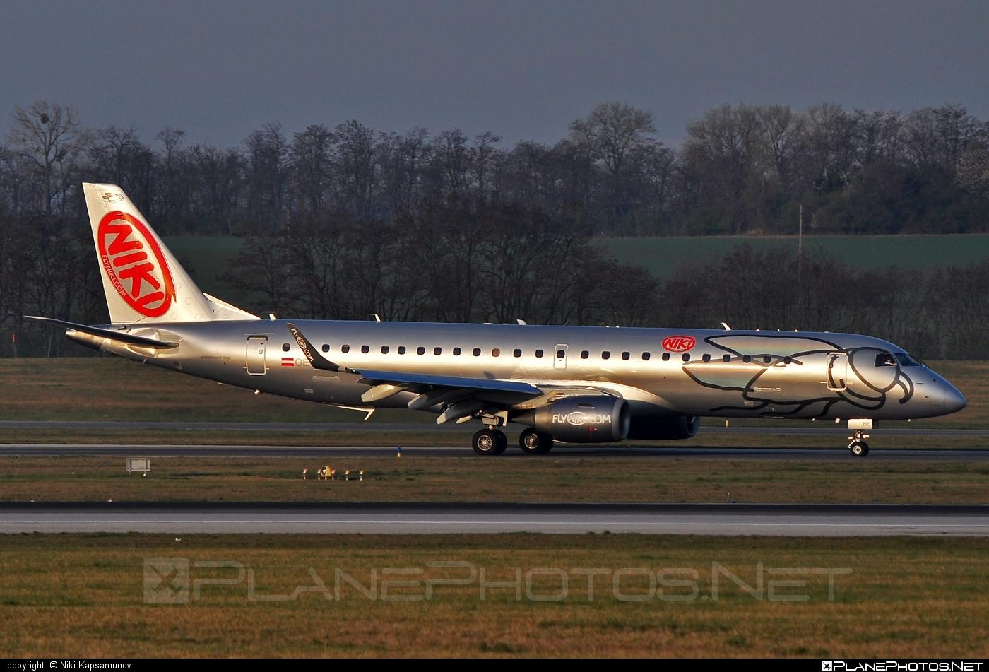 Embraer E190LR (ERJ-190-100LR) - OE-IHE operated by Niki #e190 #e190100 #e190100lr #e190lr #embraer #embraer190 #embraer190100lr #embraer190lr #flyniki #niki