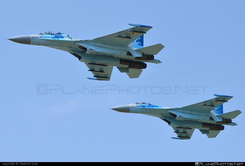 Sukhoi Su-27UB - 71 operated by Povitryani Syly Ukrayiny (Ukrainian Air Force) #povitryanisylyukrayiny #su27 #su27ub #sukhoi #sukhoi27 #ukrainianairforce