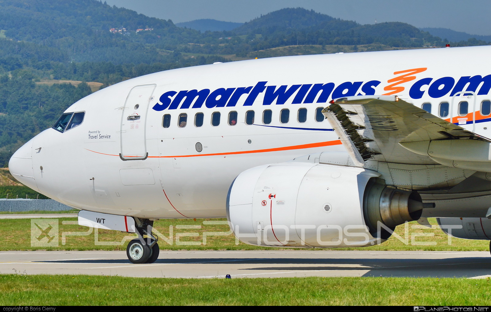 Boeing 737-700 - OK-SWT operated by Smart Wings #b737 #b737nextgen #b737ng #boeing #boeing737 #smartwings