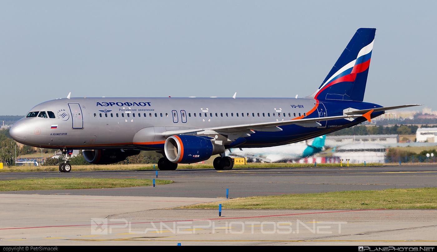 Airbus A320-214 - VQ-BIV operated by Aeroflot #a320 #a320family #aeroflot #airbus #airbus320