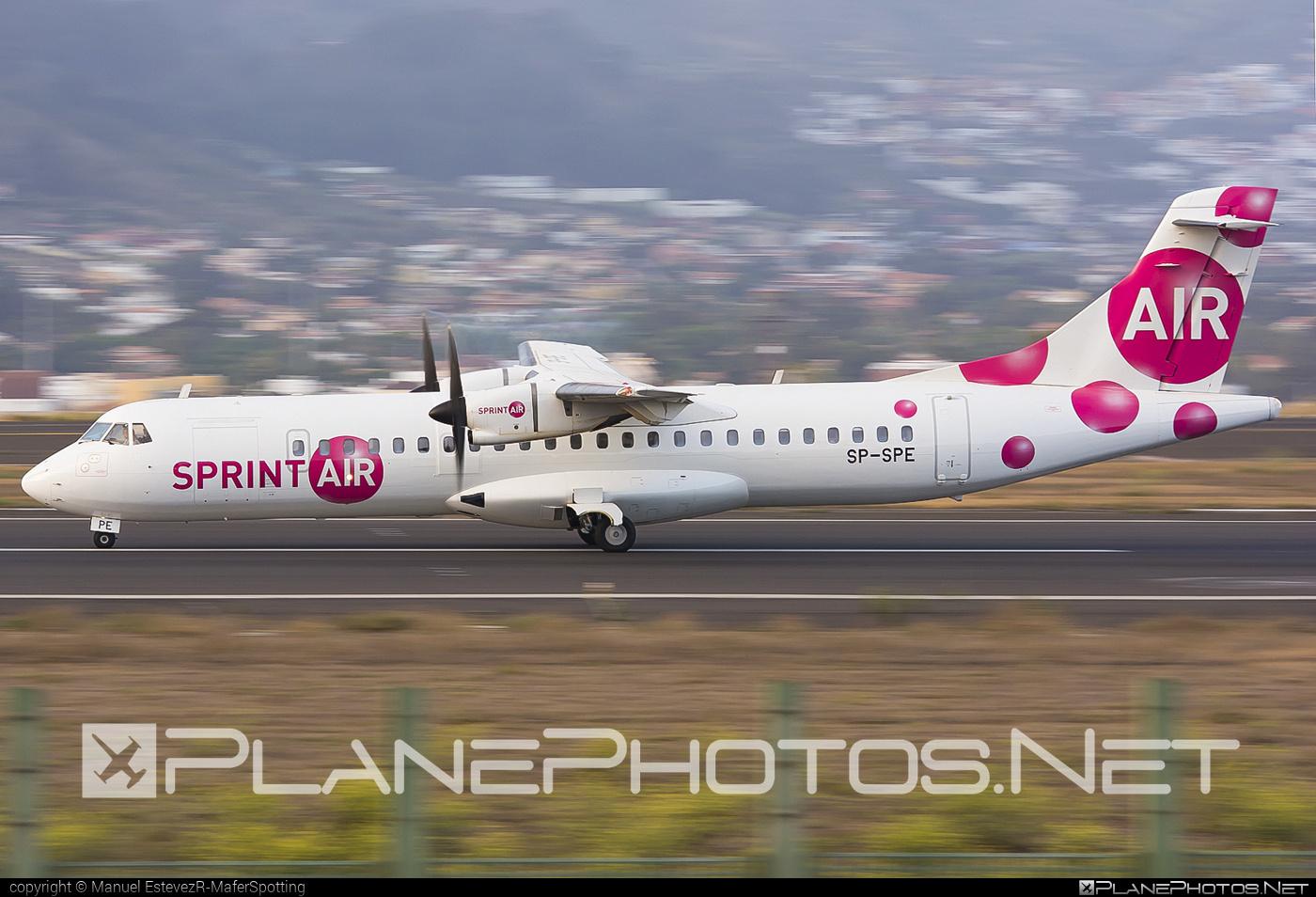 ATR 72-202 - SP-SPE operated by SprintAir #atr