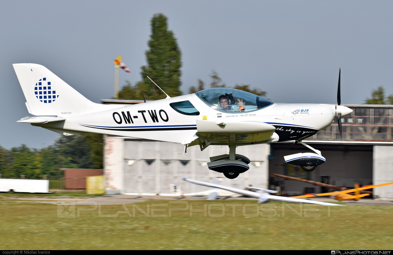 Czech Sport Aircraft PS-28 Cruiser - OM-TWO operated by SKY SERVICE s.r.o. #czechsportaircraft #ps28 #ps28cruiser