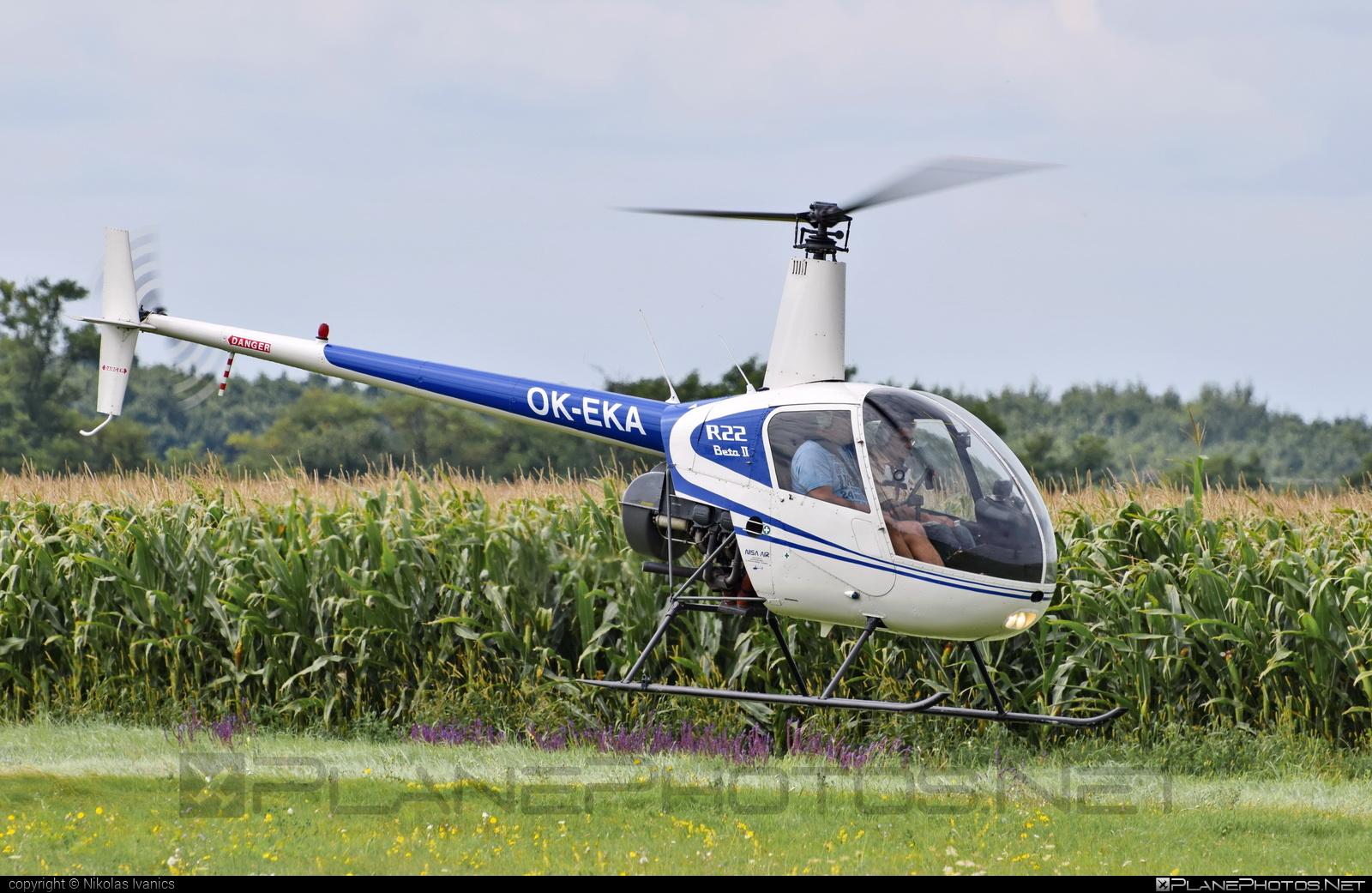 Robinson R22 Beta II - OK-EKA operated by Nisa Air #robinson