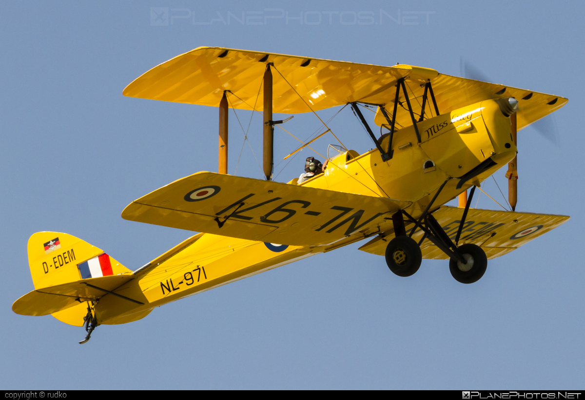 De Havilland DH-82A Tiger Moth - D-EDEM operated by Private operator #dehavilland