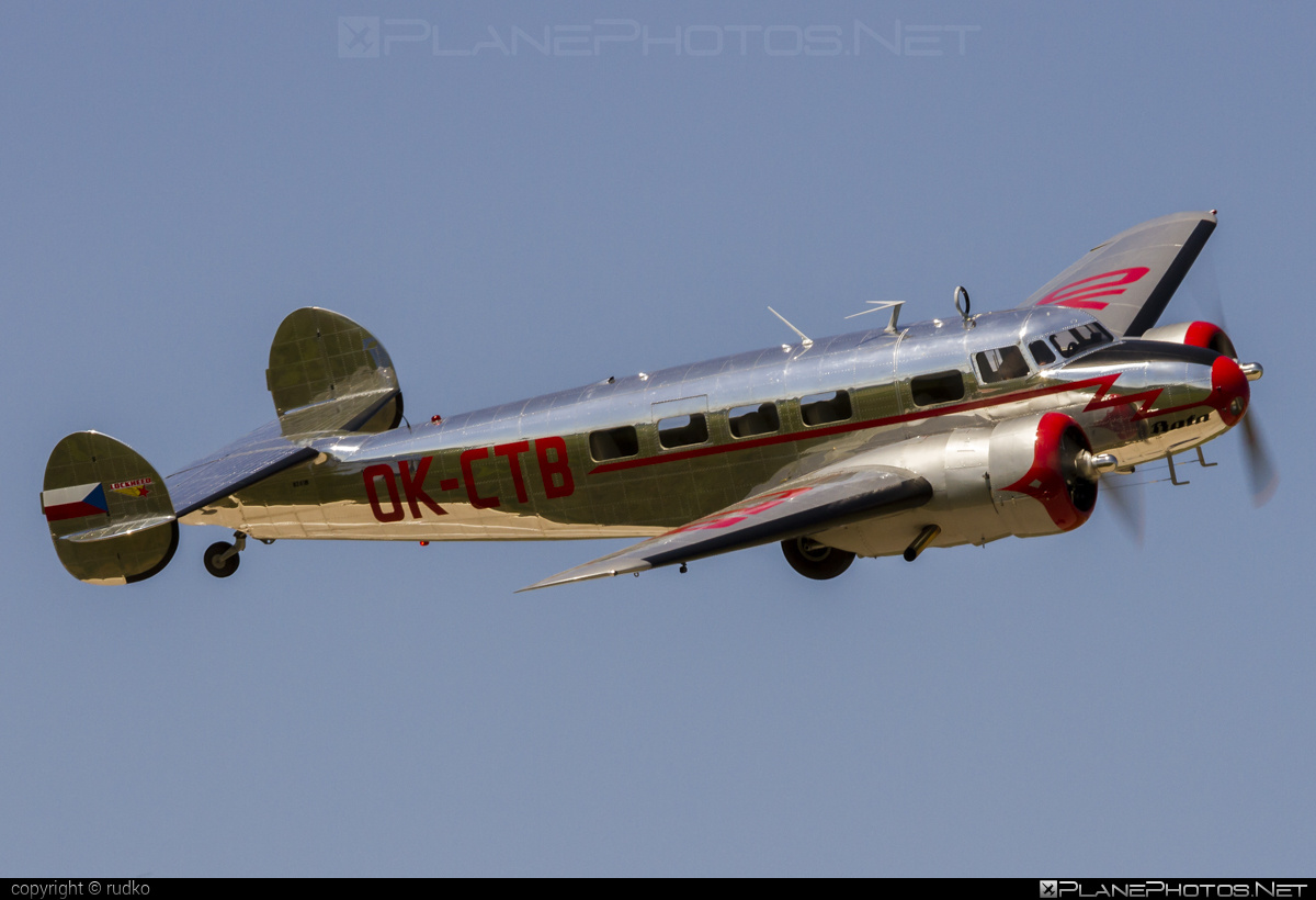 Lockheed 10-A Electra - N241M operated by Private operator #lockheed