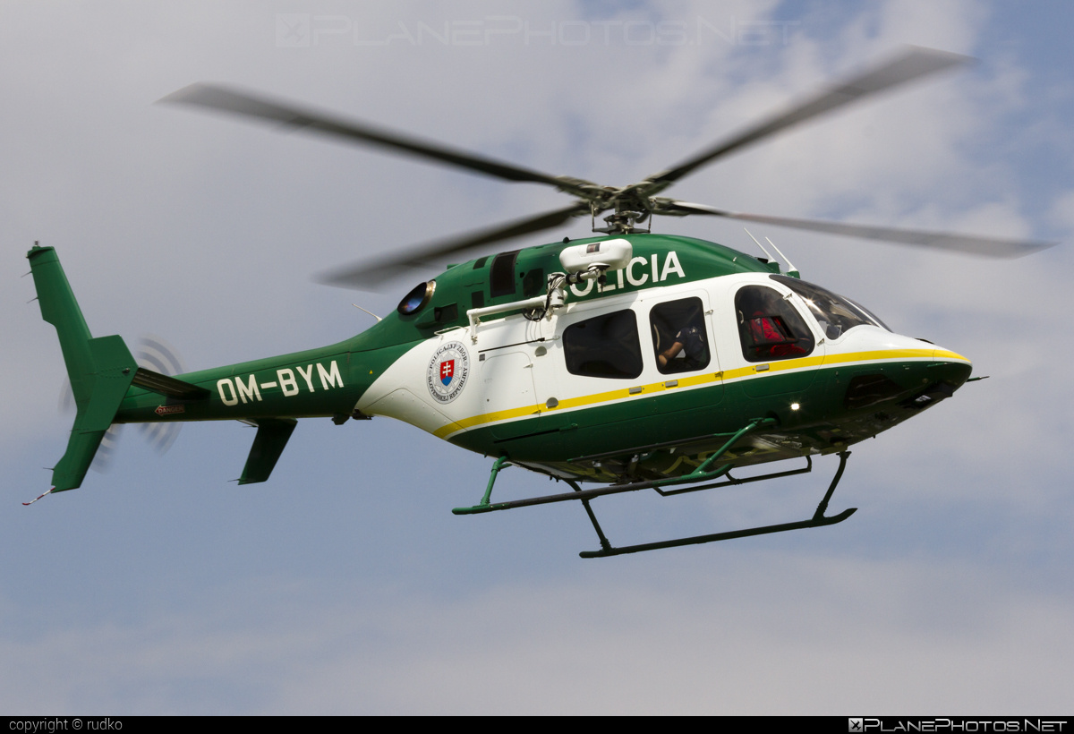 Bell 429 - OM-BYM operated by Letecký útvar MV SR (Slovak Government Flying Service) #bell #bellhelicopters