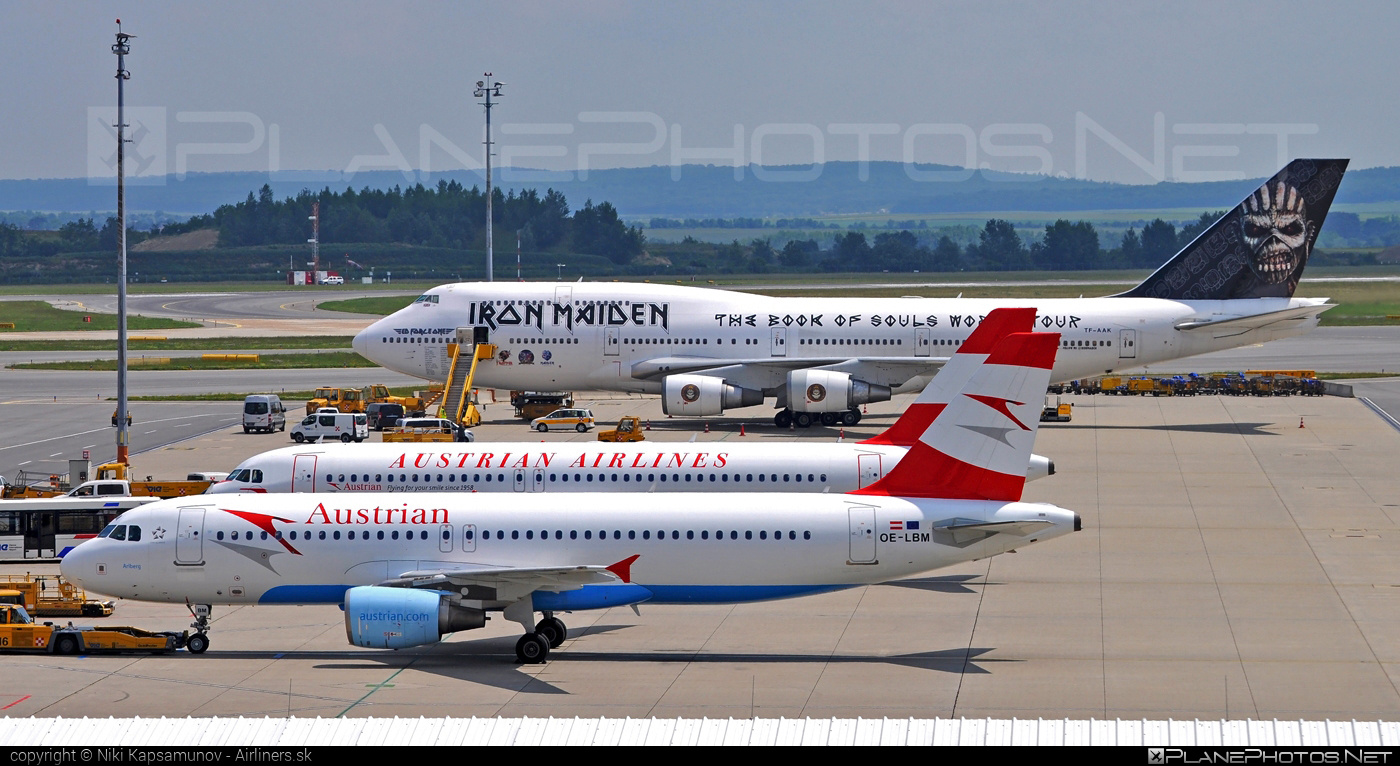 Airbus A320-214 - OE-LBM operated by Austrian Airlines #a320 #a320family #airbus #airbus320 #edforceone #ironmaiden