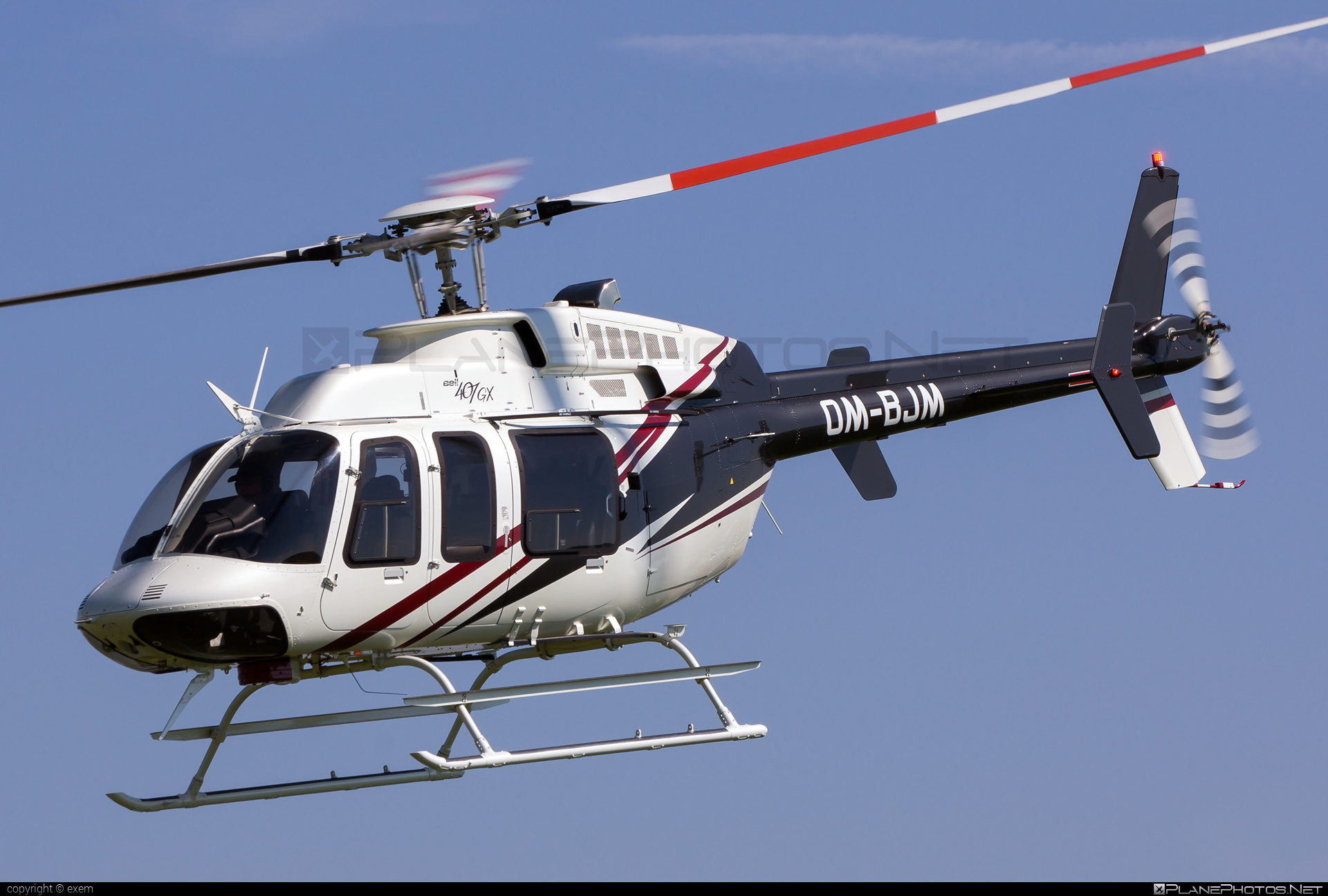 TECH-MONT Helicopter company Bell 407GX - OM-BJM #bell #bellhelicopters