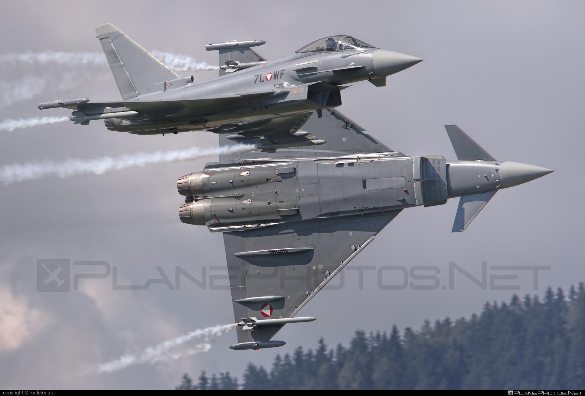 Eurofighter Typhoon S - 7L-WF operated by Österreichische Luftstreitkräfte (Austrian Air Force) #austrianairforce #eurofighter #typhoon