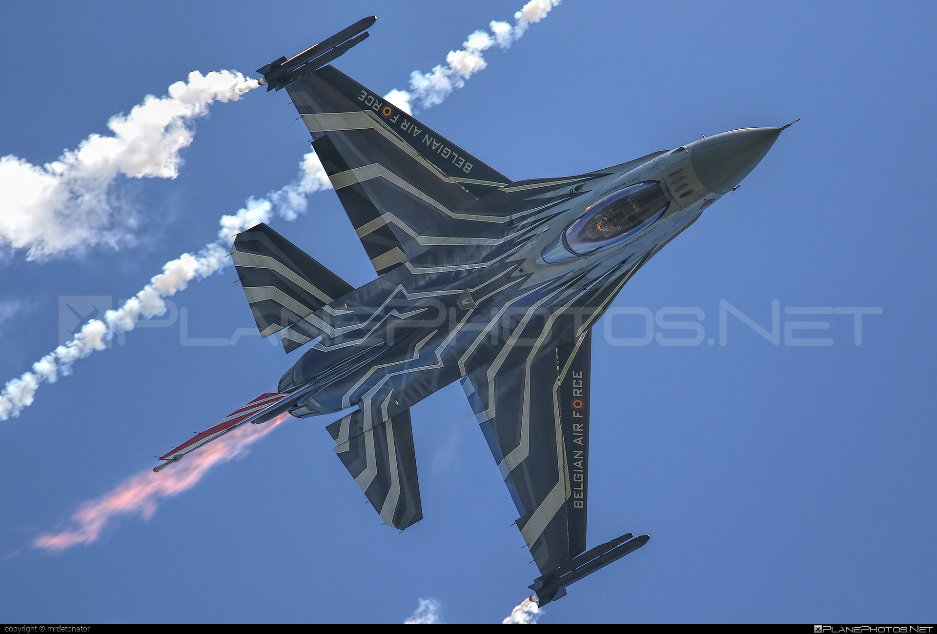 SABCA F-16AM Fighting Falcon - FA-123 operated by Luchtcomponent (Belgian Air Force) #airpower2016 #belgianairforce #f16 #f16am #fightingfalcon #luchtcomponent #sabca