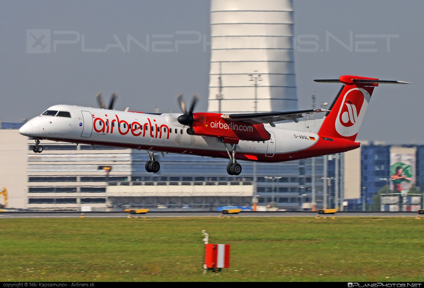 Bombardier DHC-8-Q402 Dash 8 - D-ABQL operated by Air Berlin #airberlin #bombardier #dash8 #dhc8 #dhc8q402