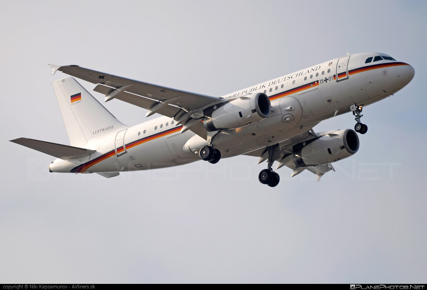 Airbus ACJ319-133X - 15+01 operated by Luftwaffe (German Air Force) #acj319 #acj319133x #airbus #airbuscorporatejet