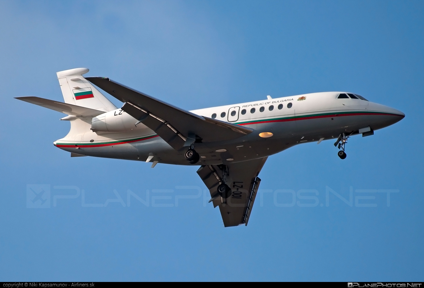 Dassault Falcon 2000 - LZ-OOI operated by Bulgaria - Government #dassault #dassaultfalcon #dassaultfalcon2000 #falcon2000