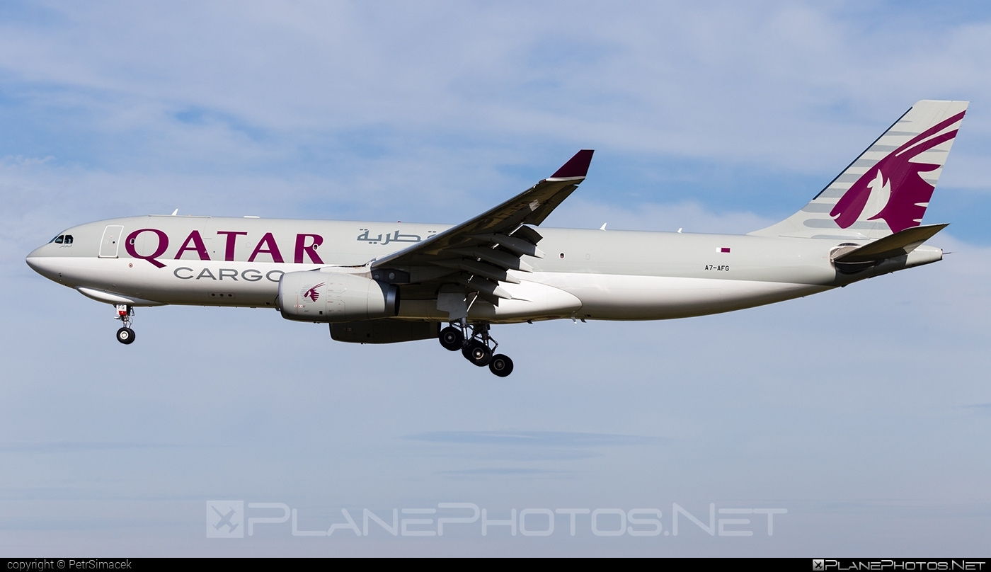 Airbus A330-243F - A7-AFG operated by Qatar Airways Cargo #a330 #a330f #a330family #airbus #airbus330 #qatarairwayscargo