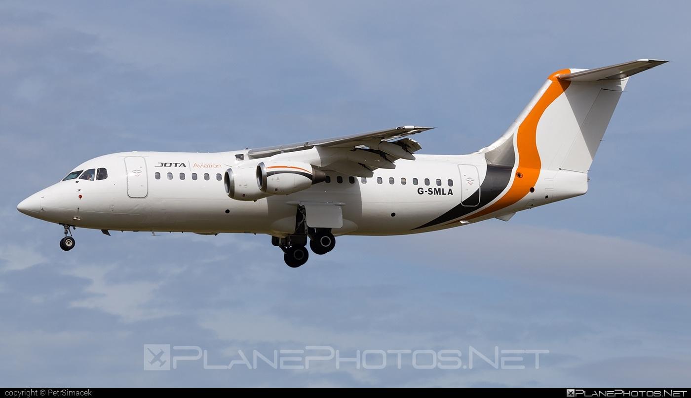 British Aerospace BAe 146-200 - G-SMLA operated by Jota Aviation #bae146 #bae146200 #britishaerospace