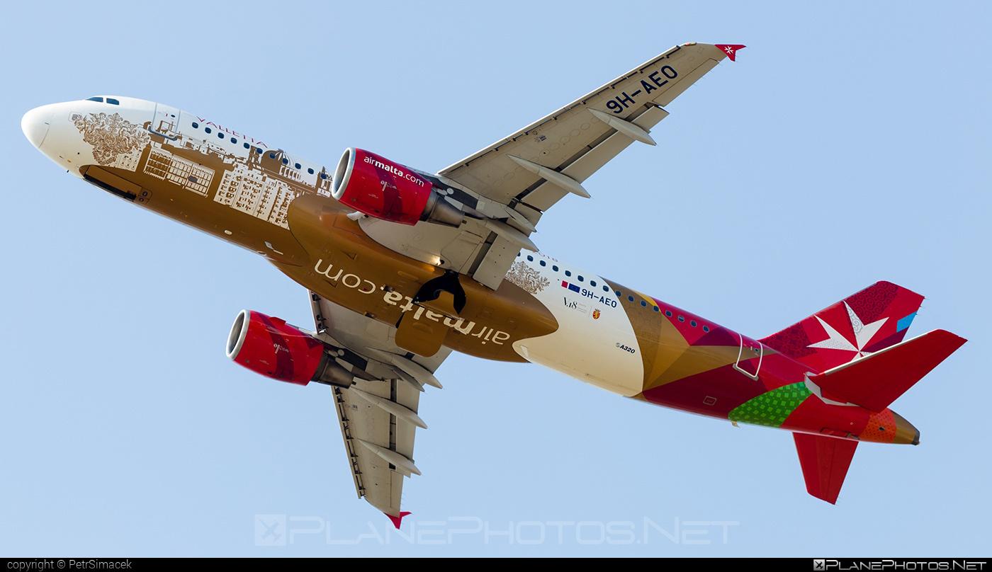 Airbus A320-214 - 9H-AEO operated by Air Malta #a320 #a320family #airbus #airbus320 #airmalta