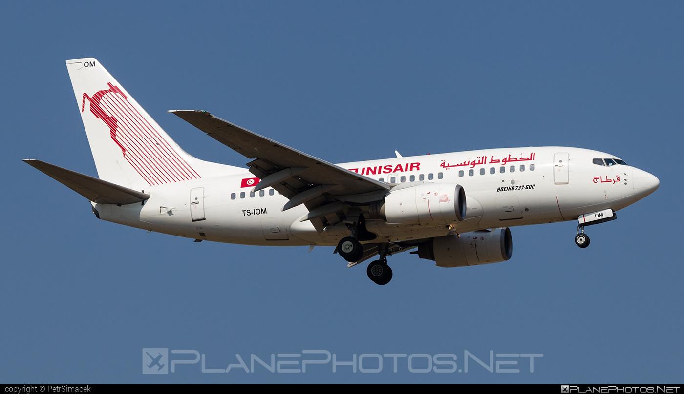 Tunisair Boeing 737-600 - TS-IOM #b737 #b737nextgen #b737ng #boeing #boeing737 #tunisair