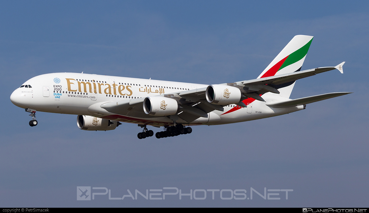 Airbus A380-861 - A6-EOR operated by Emirates #a380 #a380family #airbus #airbus380 #emirates
