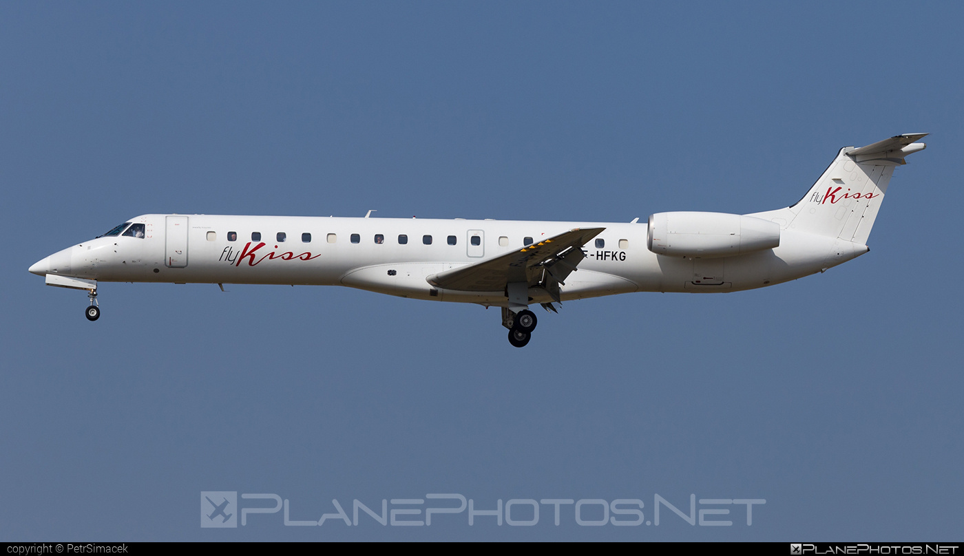 Embraer ERJ-145EP - F-HFKG operated by Fly KISS #embraer