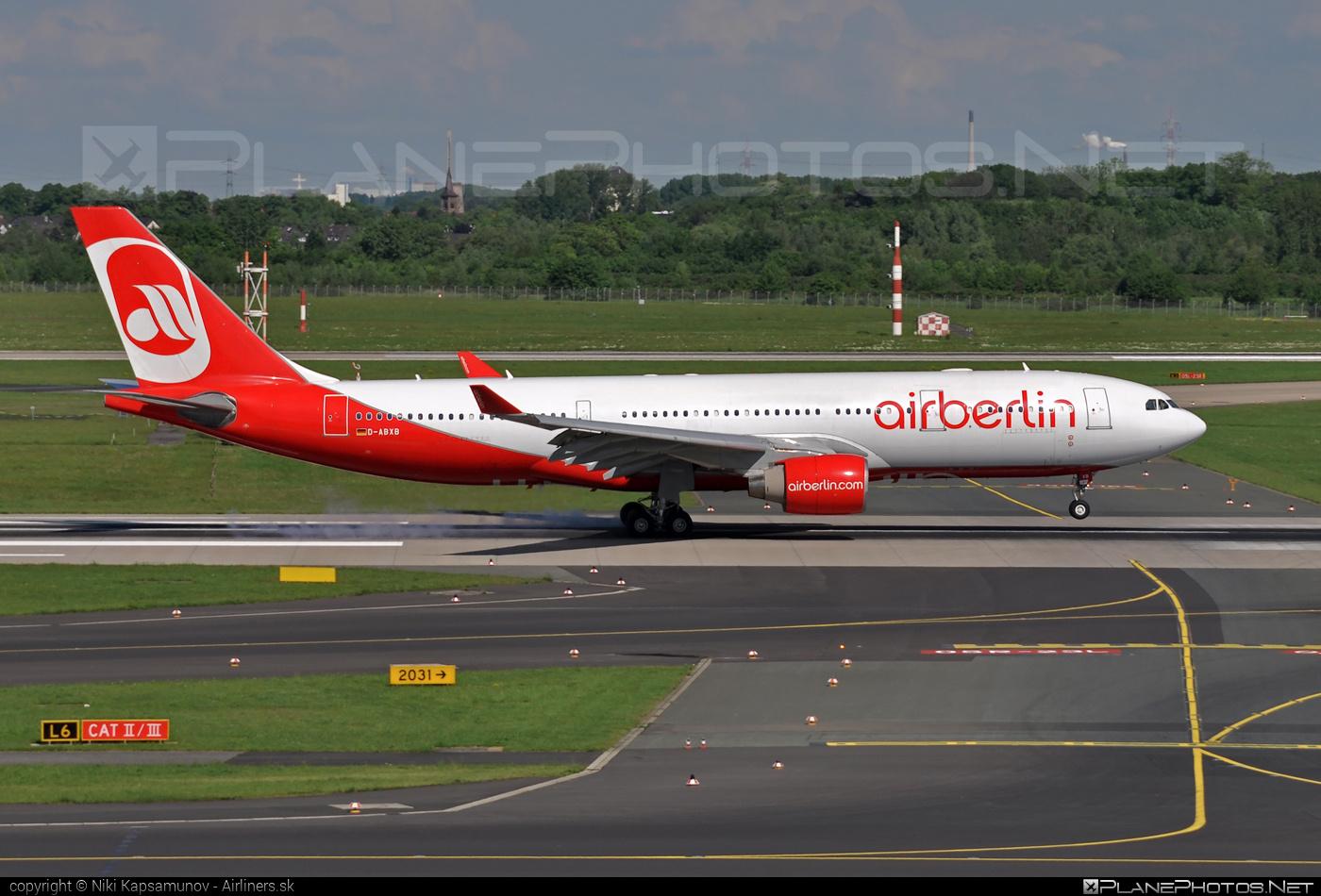 Air Berlin Airbus A330-223 - D-ABXB #a330 #a330family #airberlin #airbus