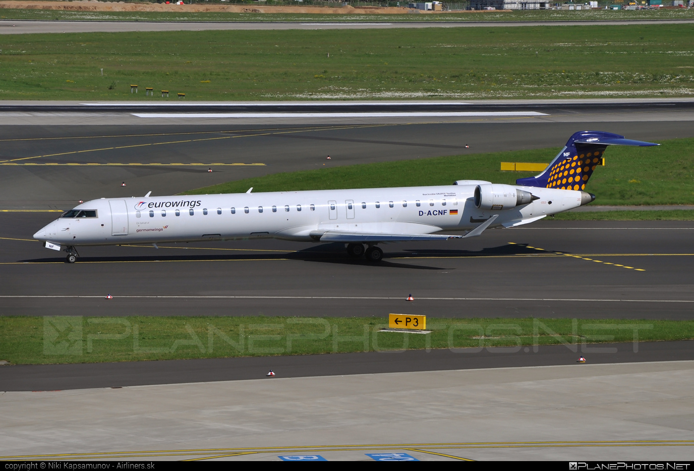 Bombardier CRJ900 NextGen - D-ACNF operated by Eurowings #bombardier #crj900 #crj900nextgen #crj900ng #eurowings