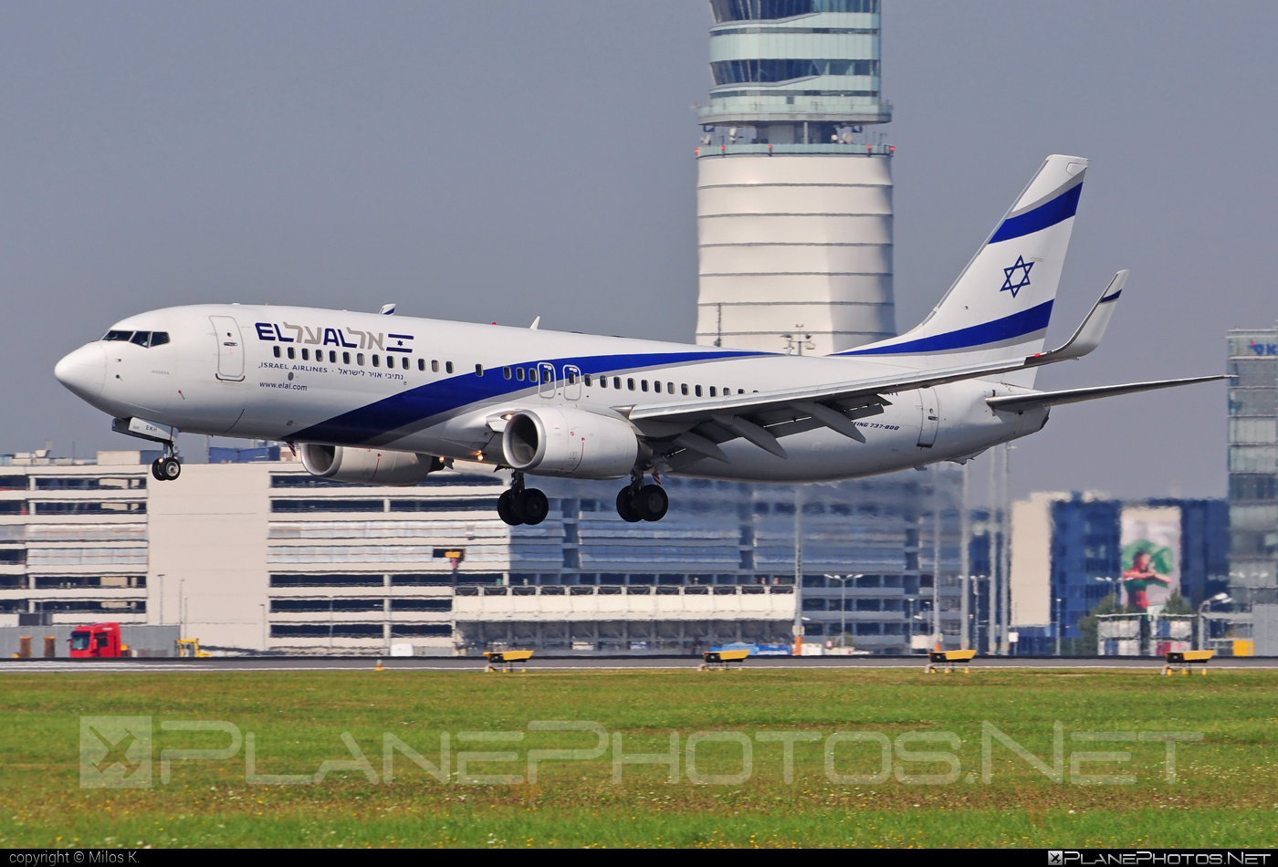 Boeing 737-800 - 4X-EKH operated by El Al Israel Airlines #b737 #b737nextgen #b737ng #boeing #boeing737 #elal #elalisraelairlines #israelairlines
