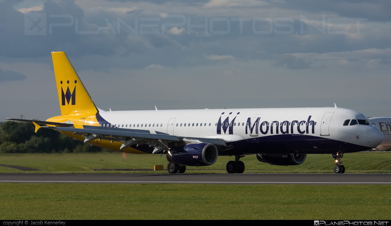 Airbus A321-231 - G-ZBAI operated by Monarch Airlines #a320family #a321 #airbus #airbus321