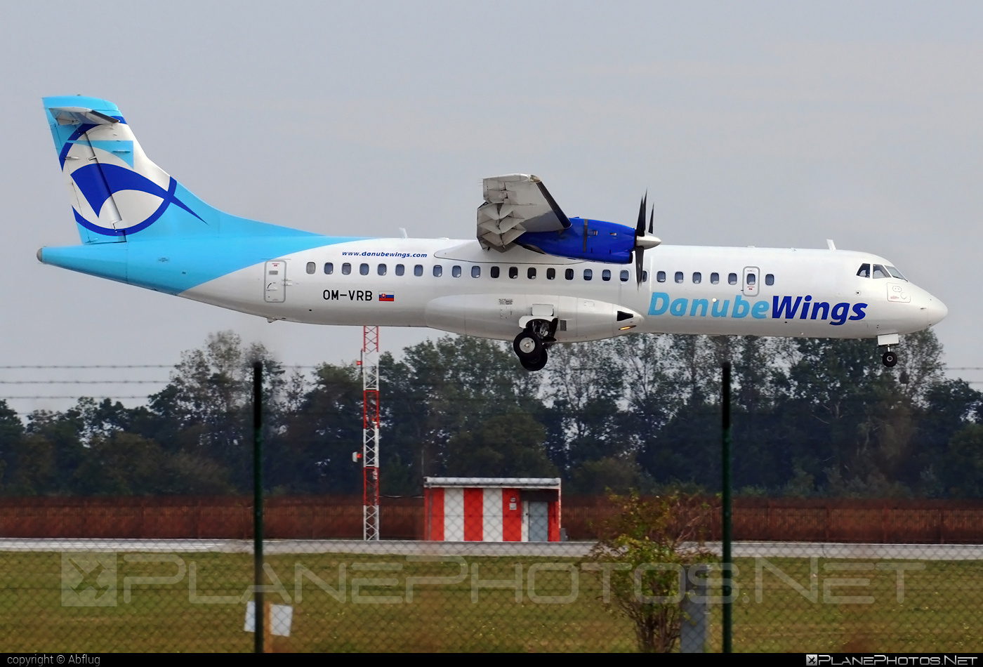 ATR 72-202 - OM-VRB operated by Danube Wings #atr