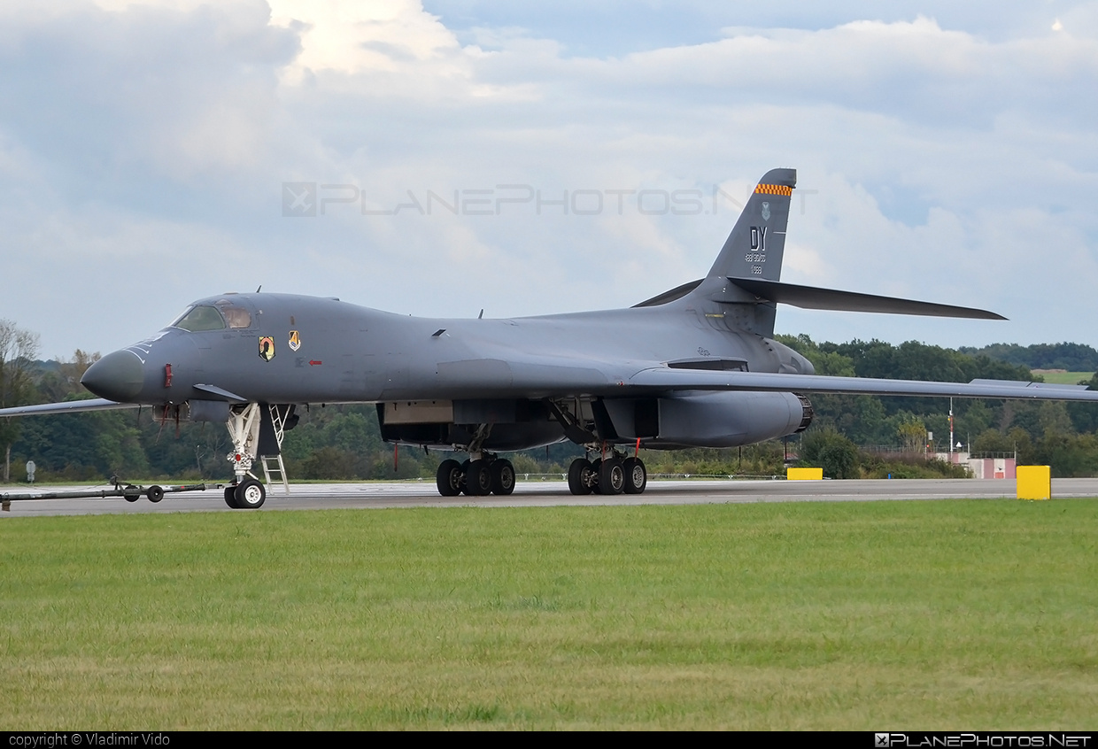 Rockwell B-1B Lancer - 85-0089 operated by US Air Force (USAF) #natodays #natodays2016 #rockwell #usaf #usairforce