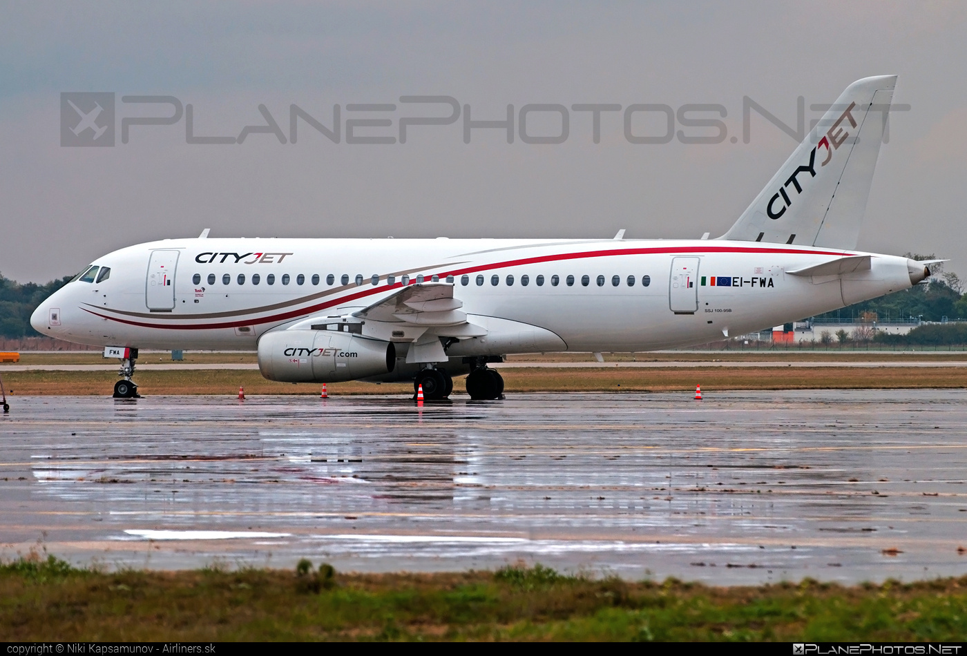 Sukhoi SSJ 100-95B Superjet - EI-FWA operated by CityJet #ssj100 #ssj10095b #sukhoi #sukhoisuperjet #superjet