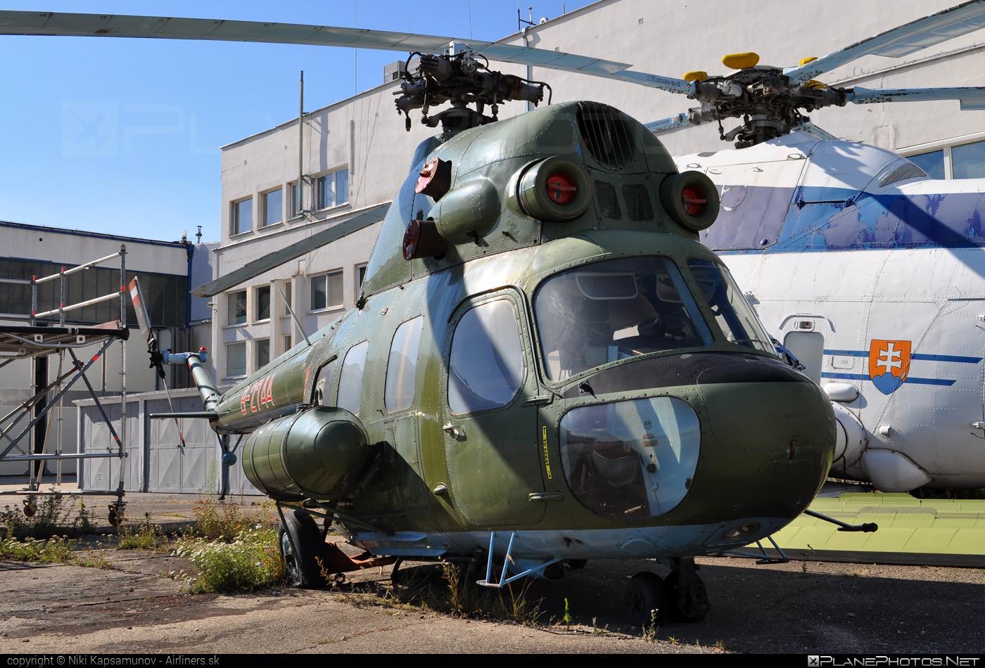 Mil Mi-2 - B-2744 operated by Letecký útvar MV SR (Slovak Government Flying Service) #mil #milhelicopters
