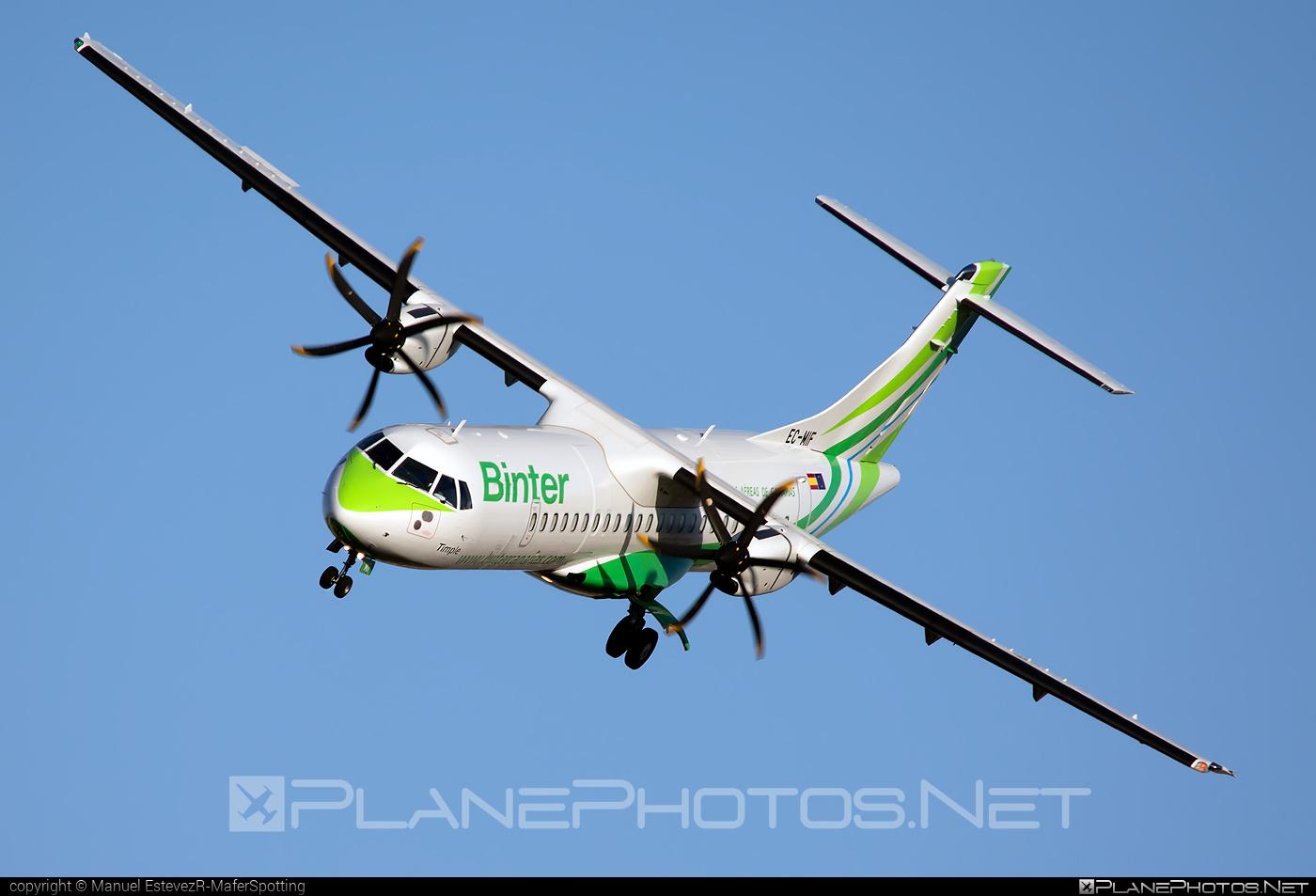 ATR 72-600 - EC-MIF operated by Binter Canarias #atr