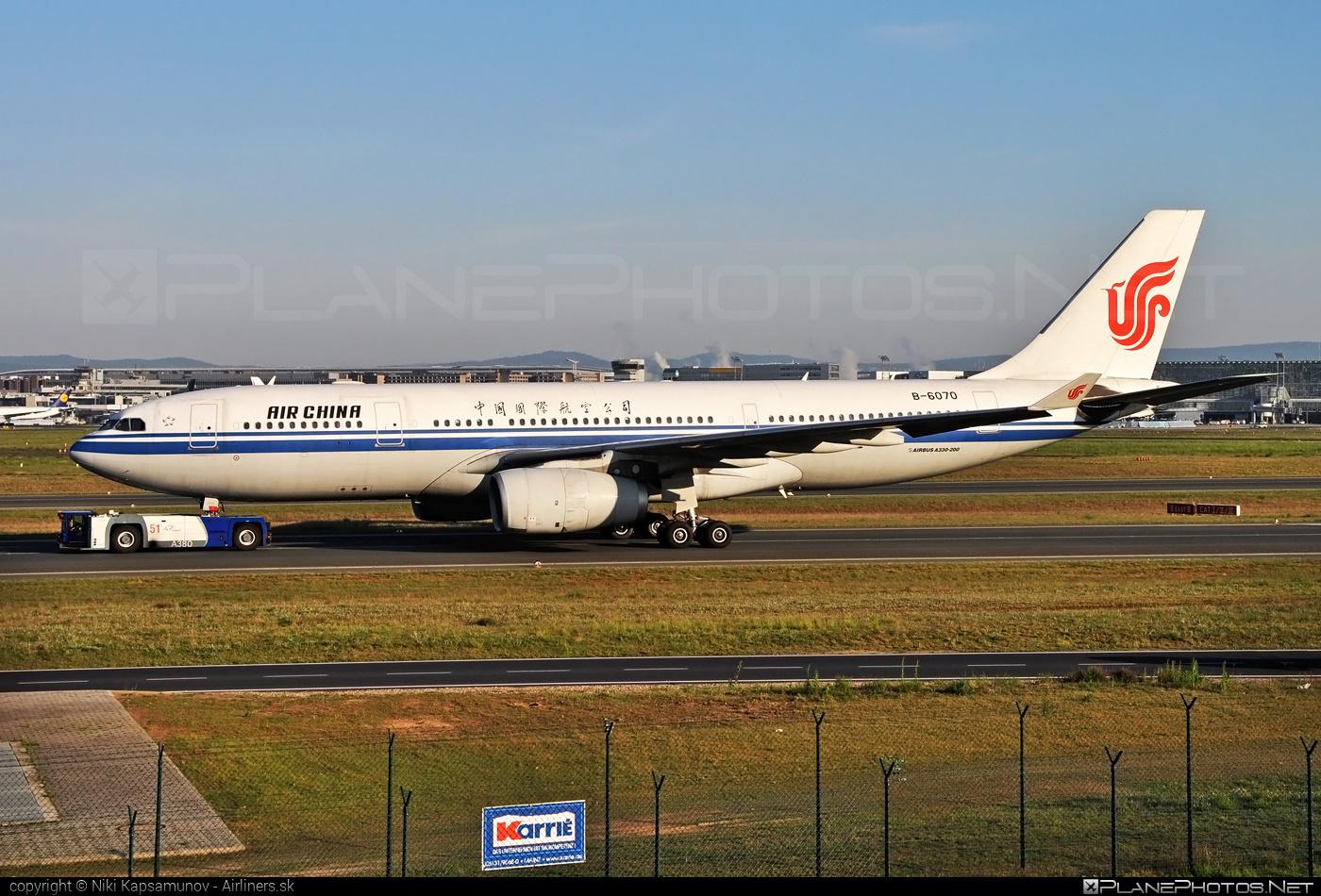 Airbus A330-243 - B-6070 operated by Air China #a330 #a330family #airbus #airbus330 #airchina