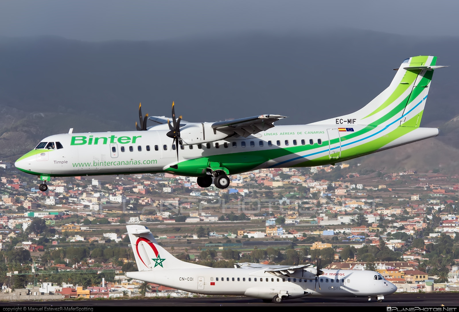 ATR 72-600 - EC-MIF operated by Binter Canarias #atr