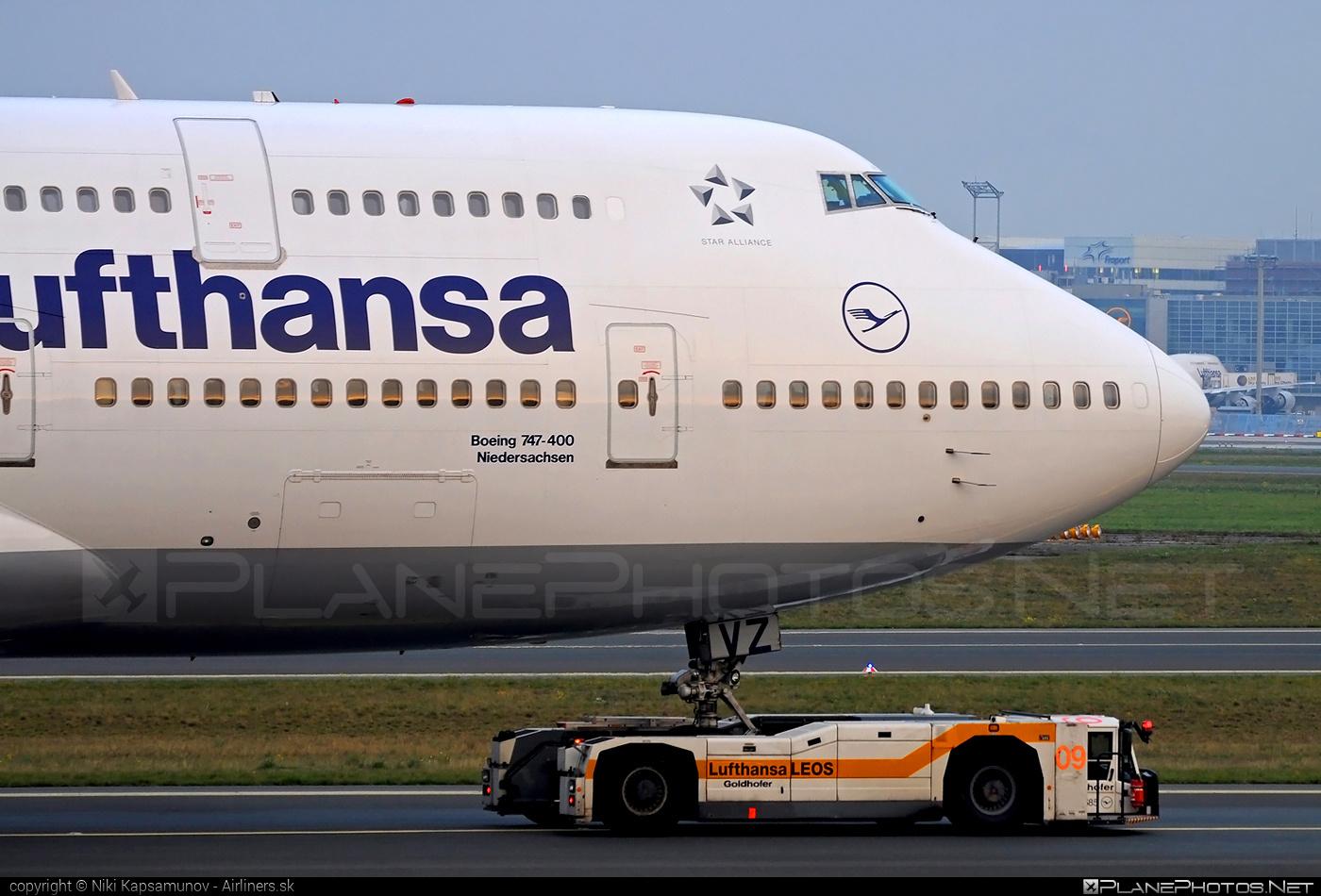 Boeing 747-400 - D-ABVZ operated by Lufthansa #b747 #boeing #boeing747 #jumbo #lufthansa