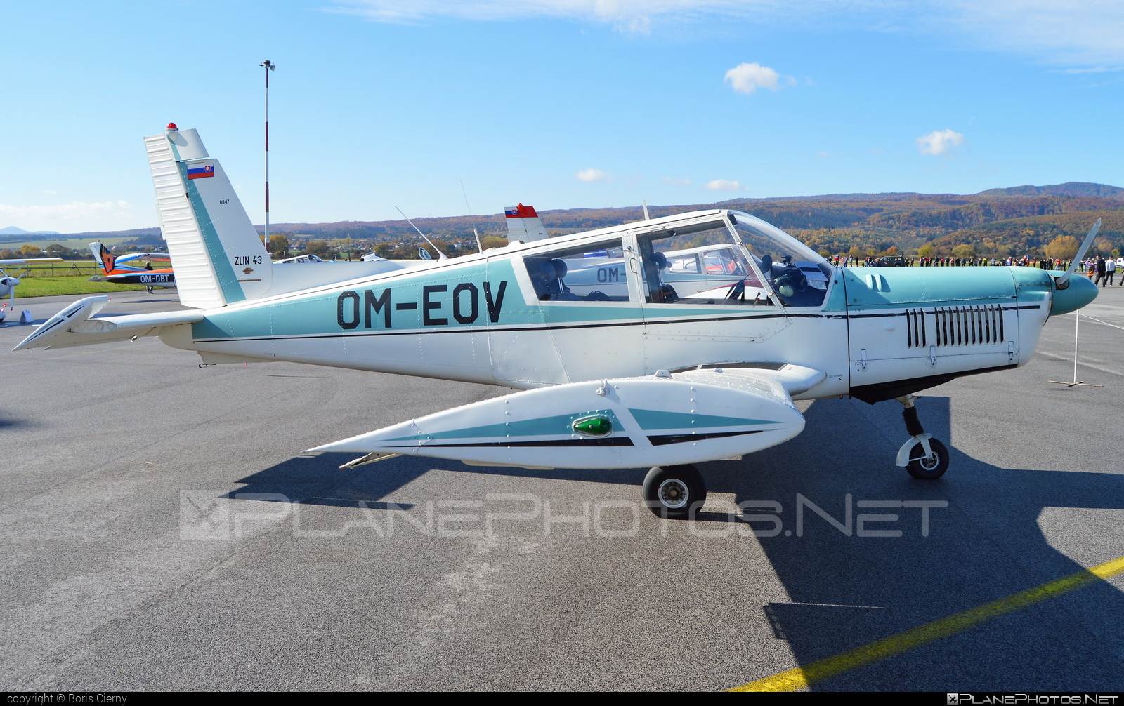 Zlin Z-43 - OM-EOV operated by Aeroklub Trnava #z43 #zlin #zlin43