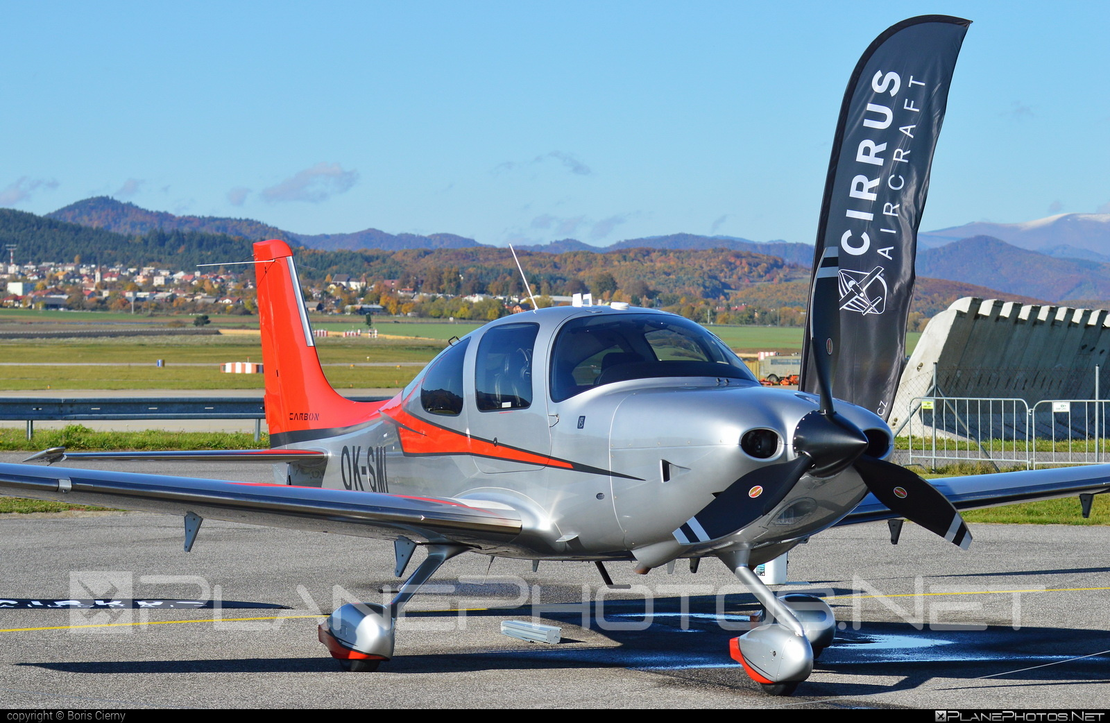 Cirrus SR22T GTS - OK-SMI operated by Private operator #cirrus