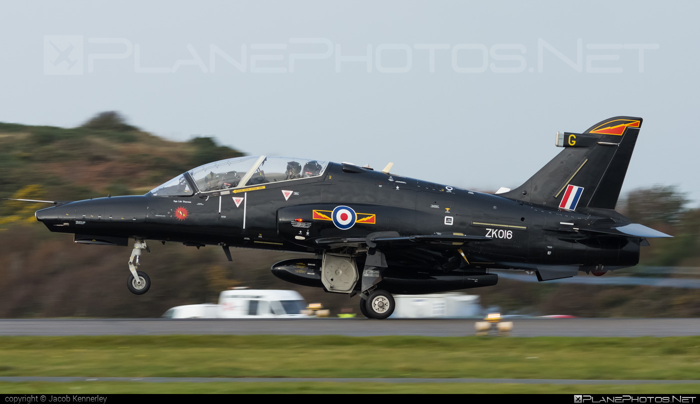 British Aerospace Hawk T2 - ZK016 operated by Royal Air Force (RAF) #britishaerospace #raf #royalairforce