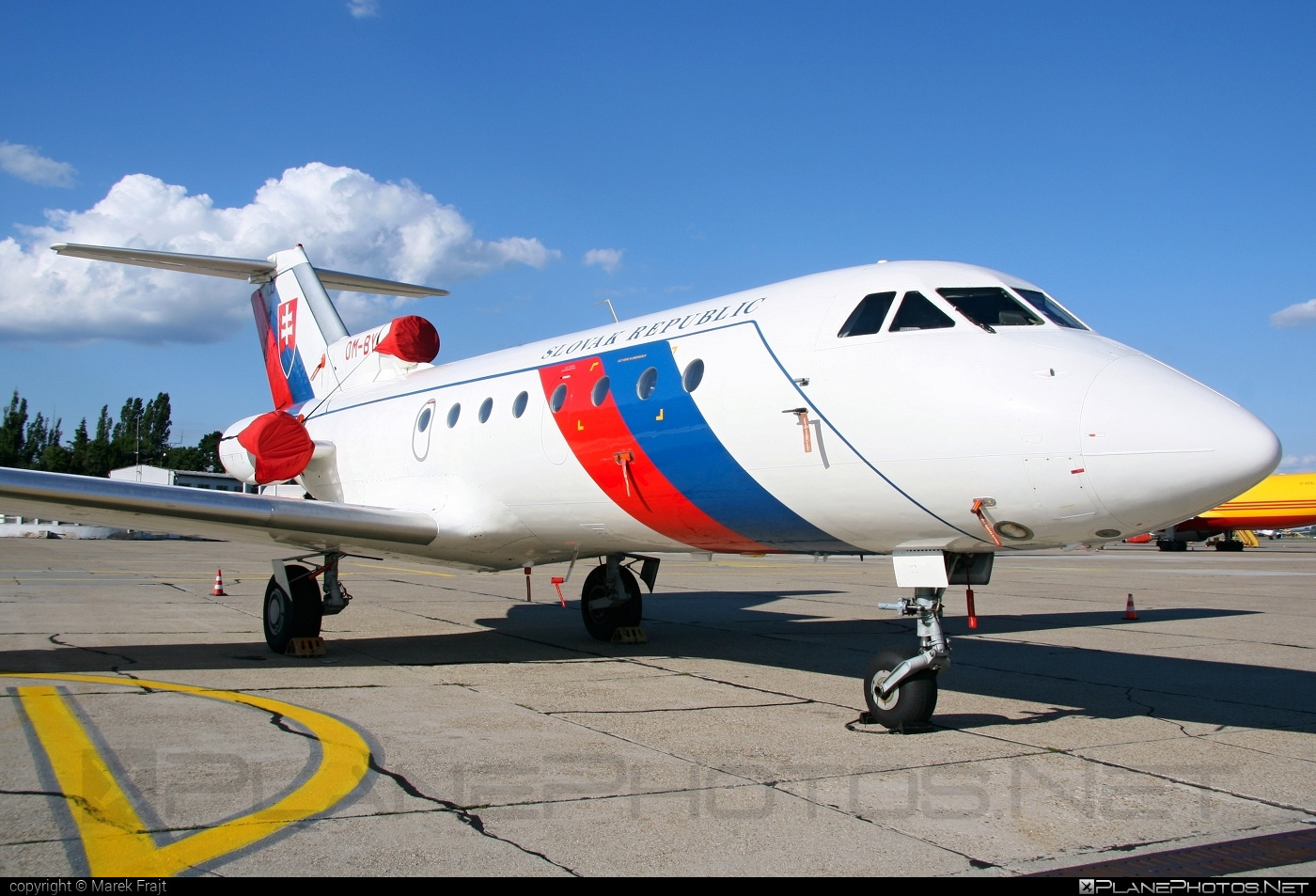 Yakovlev Yak-40 - OM-BYL operated by Letecký útvar MV SR (Slovak Government Flying Service) #yak #yak40 #yakovlev